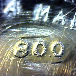 timbro_argento_925_800_argento800_oro_usato_verona