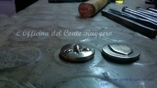 Monente e bottoni per Giochi di Ruolo dal Vivo #grv