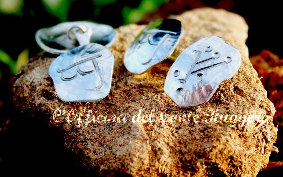Gemelli in argento con